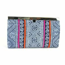 Indigo Ethnic Hmong Clutch Fair Trade Handcrafted Artisanal Accessories Gift