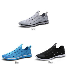 Mens Spring Wearable Walking Water Shoes Breathable Non Slip Hiking Beach Shoes