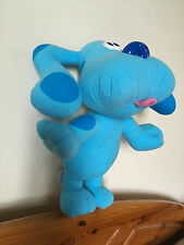 Fisher Price Blues Clues Blue Musical Barking Soft Plush Dog Toy Teddy