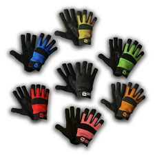 Mechanics Work Gloves Synthetic Leather Mesh Washable XS S M L XL XXL Sizes