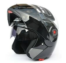 7 Color Motorcycle Helmet Dual Visor Modular Flip Up Sun Shield Full Open Face