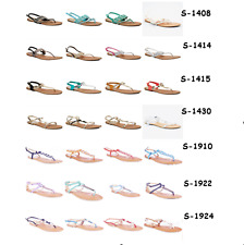 New Womens Flat Sandals Shoes, Soft Extra Comfort Casual Flip Thong Slippers (6)