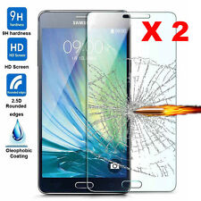 2-Pack Explosion Proof Premium Tempered Glass Film Guard Screen Protector Cover