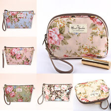 New Portable Lady Girls lovely Cute Floral Print Purse Handbag Cosmetic Bag Tote