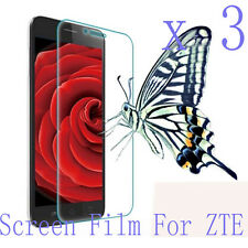 3 Glossy Matte Screen Protector Film Cover Skin Shell Guard Shield For ZTE