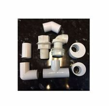 Overflow Pipe Connector Coupler/45° Bend/90° Tee/ Elbow/Reducer/Tank Connector