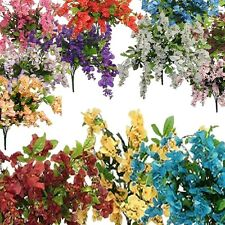 32 in Silk Wisteria Bush Artificial Flowers Wedding Arrangements Decorations
