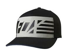 Mens Fox (BLK) Red White And True Flexfit Hat