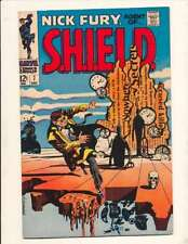 Nick Fury: Agent of SHIELD (1968 series) #7 in Very Fine - condition