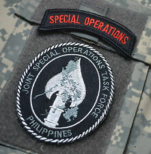 JOINT SPECIAL OPERATIONS TASK FORCE PHILIPPINES burdock-hook JSOTF-P + SP OP TAB