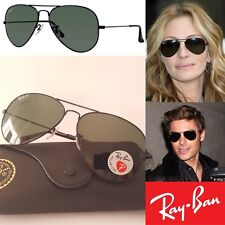 Original Polarized RAY BAN Sunglasses RB 3025 Metal 002/58 58 & 62 RRP $230 AUD
