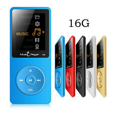 "Ultrathin ONN X02 16GB MP3 Player Speaker 1.8"" 80 hours With FM mp3 music player"