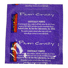 Impulse Plum Crazy Condoms - Choose Pack Size