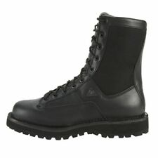 "Rocky Work Boots Mens 8"" Portland Lace Toe Waterproof Black FQ0002080"