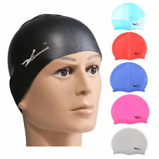 Waterproof Flexible Silicone Swimming Cap Unisex Adult  Elasticity Hat Sports SY