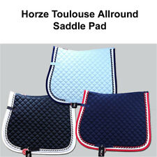 HORZE TOULOUSE ALLPURPOSE HORSE COTTON ENGLISH DIAMOND QUILTED SADDLE PAD