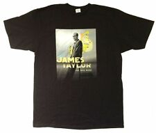 James Taylor One Man Band Spring Tour 2006 Black T Shirt New Official