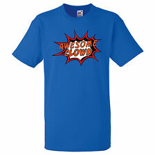 AWESOME CLOWN PERSONALISED COMIC BOOK PRINT T SHIRT