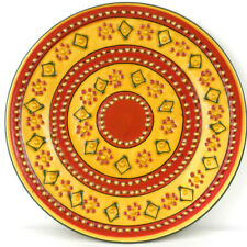 Fair Trade Hand Crafted/Painted Plates Mexican Kitchenware Lead Free Dishes