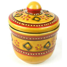Fair Trade Hand Crafted/Painted Sugar Bowls Mexican Kitchenware Accessory Gifts