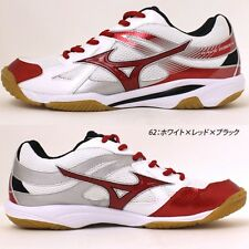 MIZUNO Unisex Volleyball Shoes WAVE ODEEN V1GA1650 White X red X black