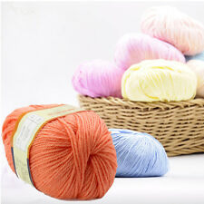 Sweater New Silk Wool Cashmere Warm Soft Dyed Baby Yarn Wholesale  For Knitting