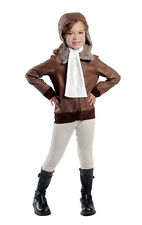 Child size Amelia Earhart the Aviator Costume - Heroes in History - 5 sizes fnt