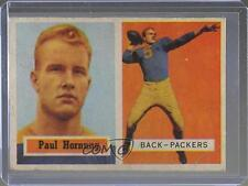 1957 Topps #151 Paul Hornung Green Bay Packers RC Rookie Football Card