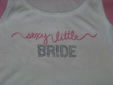 Victoria's Secret Sexy Little Bride Tank Top NWT BLING