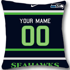 Custom zippered seattle seahawks Pillow Case With Your Name and Numbers L964