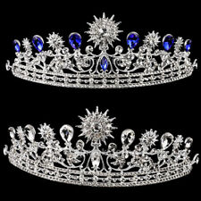 Wedding Bridal Prom Party Tiara Crystal Sunflower Crown Headband Headpiece