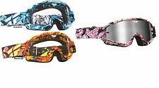 New Fly Racing Zone Pink Adult MX ATV Goggles Motocross Race Goggle Motocross