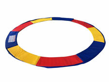ExacMe Trampoline Replacement Safety Pad Frame Spring 10-16FT Colors Round Cover