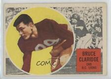 1960 Topps CFL #3 Bruce Claridge BC Lions (Vancouver Lions) (CFL) Football Card