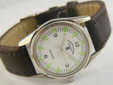 VINTAGE FAVRE LEUBA GENEVE SEA-KING WINDING SWISS MEN'S WATCH lot816-a40401