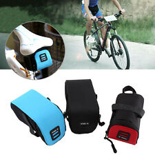 Lightweight Cycling Bicycle MTB Bike Saddle Seat Tail Rear Storage Bag Pouch DH