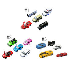 5Pcs Pull Back Model 1:64 Car Truck Vehicle Kids Toys Collection Decor Toys