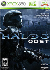 HALO 3 ODST (Microsoft Xbox 360, 2009, Includes Instructions)
