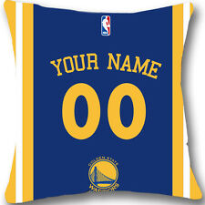 Custom Golden State Warriors Pillow Case With Your Name and Numbers L958