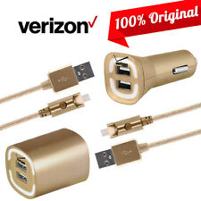 OEM Verizon Car Wall Home Charger Data Cable for Samsung Galaxy S7 S6 Note5