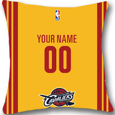 Custom Cleveland Cavaliers BasketBall Pillow Case With Your Name and Number L955
