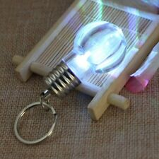 Mini Keyring Torch 7 Color Changing LED Light Lamp Bulb Keychain Toy Top Sale