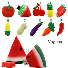 Pendrive Fruits USB Drive Cartoon USB Stick carrot Memory Stick Flash Disks