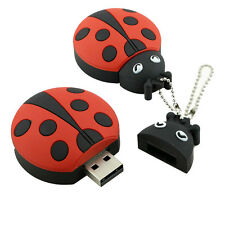 USB Flash Drive ladybug Pendrive Memoria stick beetle Flash Memory Stick Drive