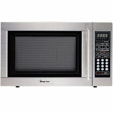 Magic Chef 1.3-Cubic Foot Digital Microwave, Stainless MCD1311ST HIGH RATING!!!