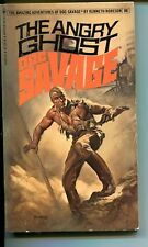 DOC SAVAGE-THE ANGRY GHOST-#86-ROBESON-VG/FN-BORIS VALLEJO-1ST EDITION VG/FN