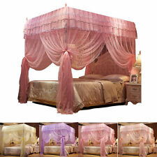 Princess 4 Corner Post Bed Canopy Mosquito Netting Or Frame Twin Full Queen