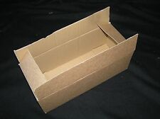 QUALITY HEFTY SINGLE WALL POSTAL MAILING CARDBOARD BOXES IDLE FOR POSTING.