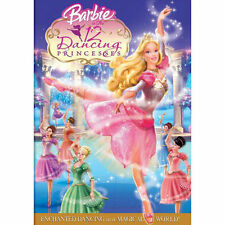 BARBIE 12 DANCING PRINCESSES (DVD, 2006, Includes Inserts) WITH SLEEVE