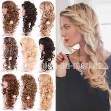 Wig Natural Curly Straight Wavy Fancy Dress Fashion Womens Ladies Hair Wigs Cap